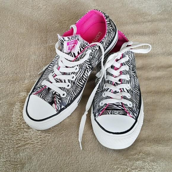 2e34e5ec7e8d Converse Shoes - CONVERSE ALL STAR ZEBRA BLACK WHITE LOW TOPS 7